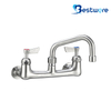 "8"" Center Wall Kitchen Faucet"